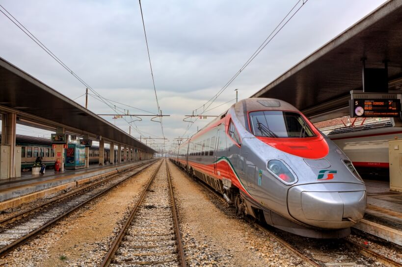 Frecciabianca - visiting Italy by train