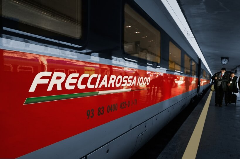 Frecciarossa - visiting Italy by train