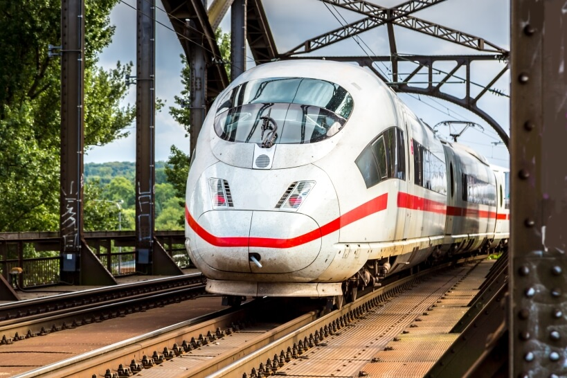 ICE - German high-speed train
