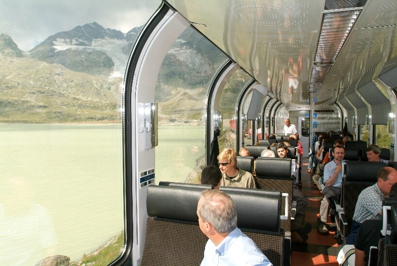 Bernina Express - visiting Switzerland by train