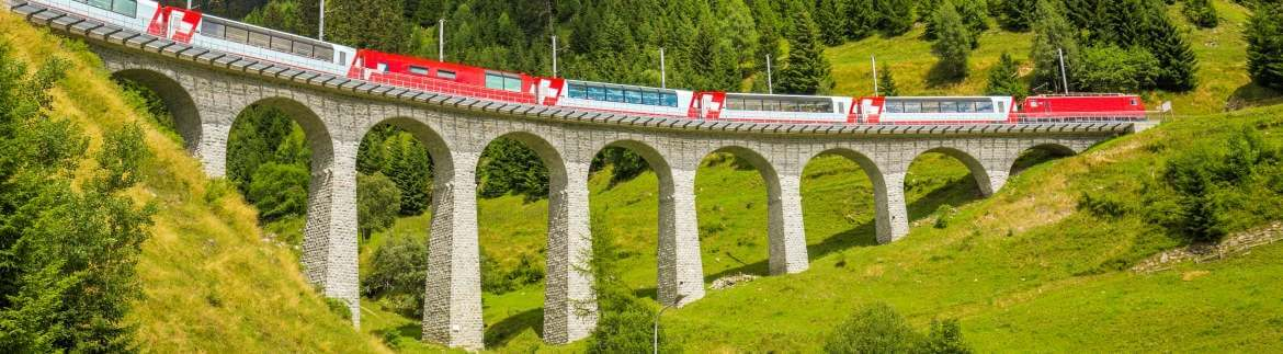 Bernina Express - journey along the panoramic route